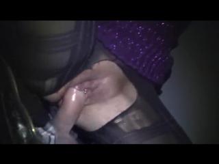 порно видео домашнее в подъезде