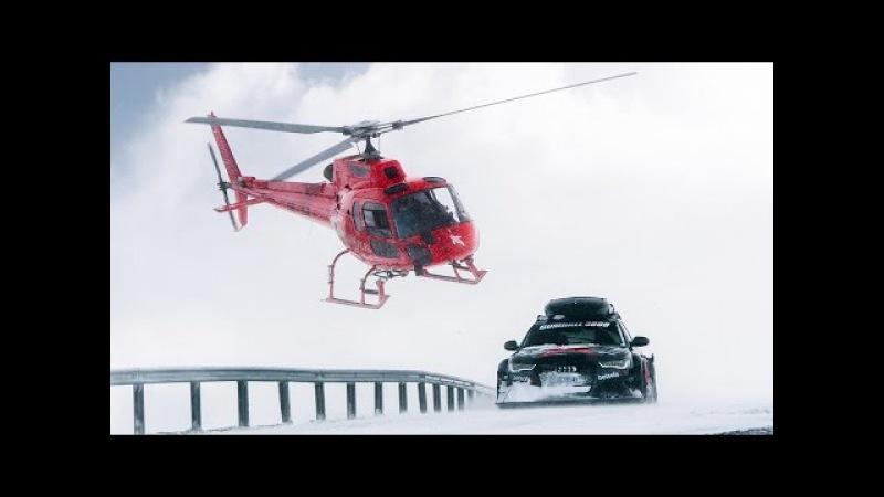 Jon Olsson's Audi RS6 DTM Attacks the Snow