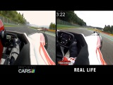 Project CARS vs Real Life - BAC Mono @ Spa