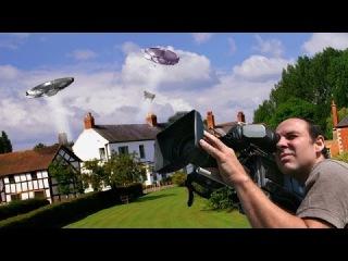 НЛО показали в прямом эфире британского канала