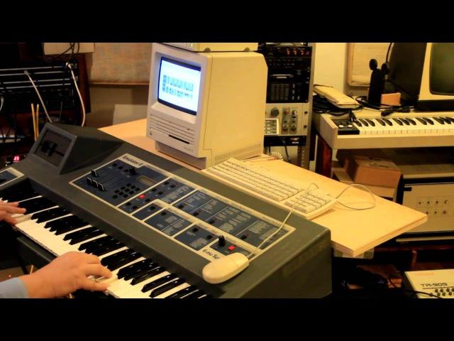 E-mu Emulator II sound demos
