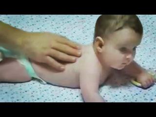 Массаж для ребёнка 6-9 месяцев. Как делать детский массаж в домашних условиях