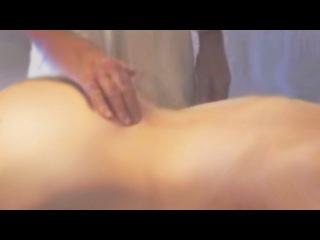 Массаж спины. Техника, обучающее видео. Back massage. Technique, training video