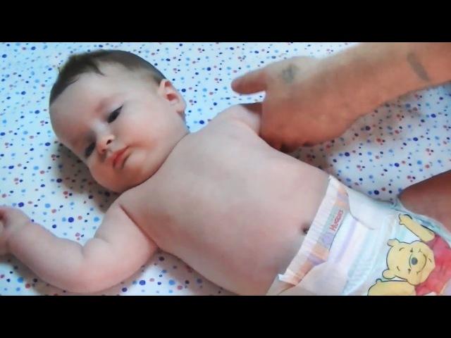Гимнастика и массаж для детей 6-9 месяцев. Gymnastics and massage for children 6-9 months