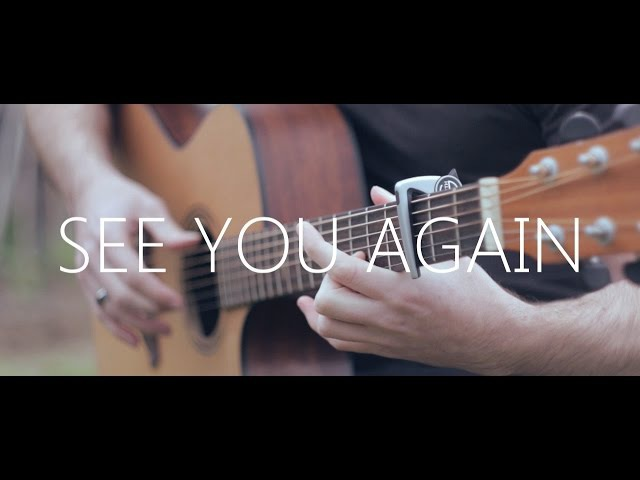 See You Again - Wiz Khalifa ft. Charlie Puth (fingerstyle guitar cover by Peter Gergely)