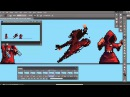 Planet Centauri How to Pixel Art part 2 Monk attack animation