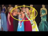 Miss Amazonas 2015 Shocking Coronation - Beauty Pageant Runner-Up Grabs Tiara From Queen's Head