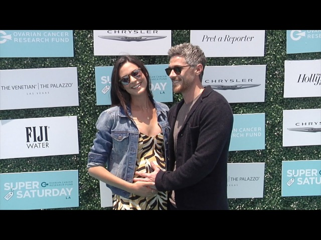 Odette Annable Baby Bump 2nd Annual Super Saturday LA! Green Carpet Arrivals