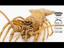 Wood spiny lobster