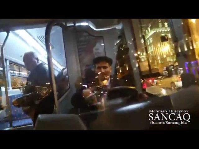 Əlil vətəndaş və axmaq sürücü (yeni video SANCAQ)