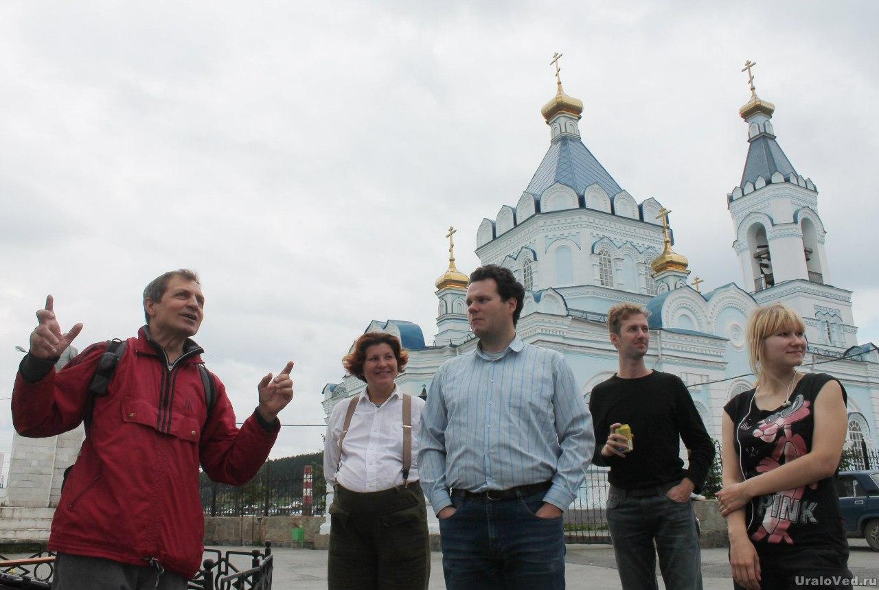 Верхние Серги, встреча с краеведом Валерием Трубецким