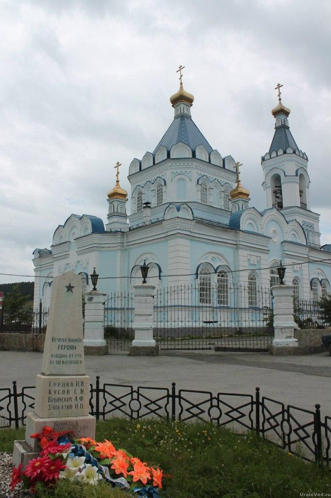 Церковь в Верхних Сергах