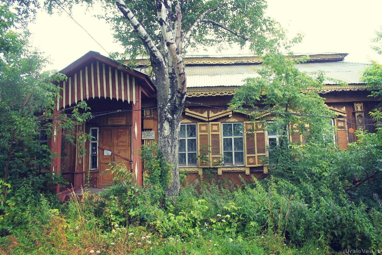 Бывшая контора Нижнесергинского завода