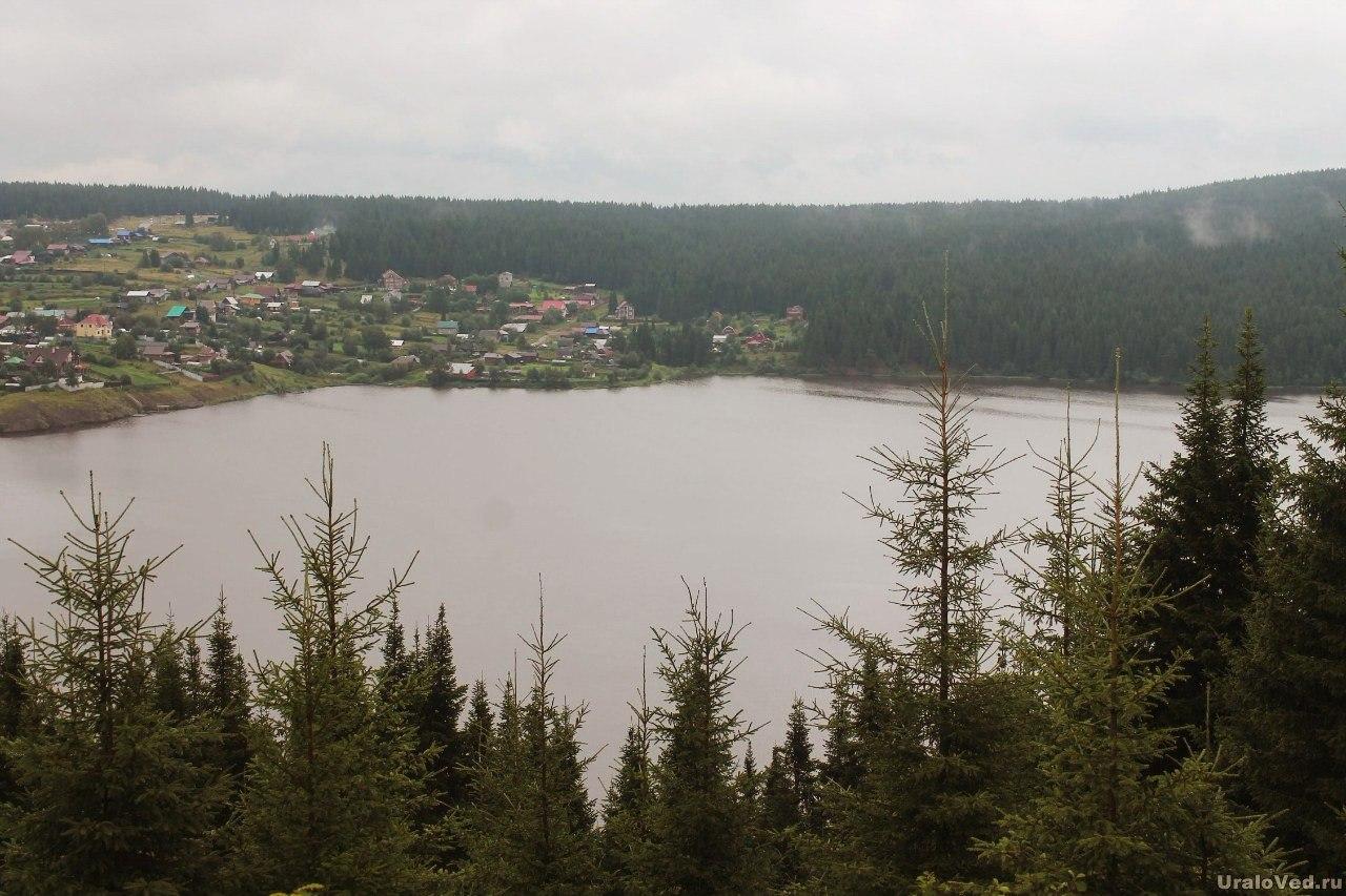 Нижние Серги и пруд
