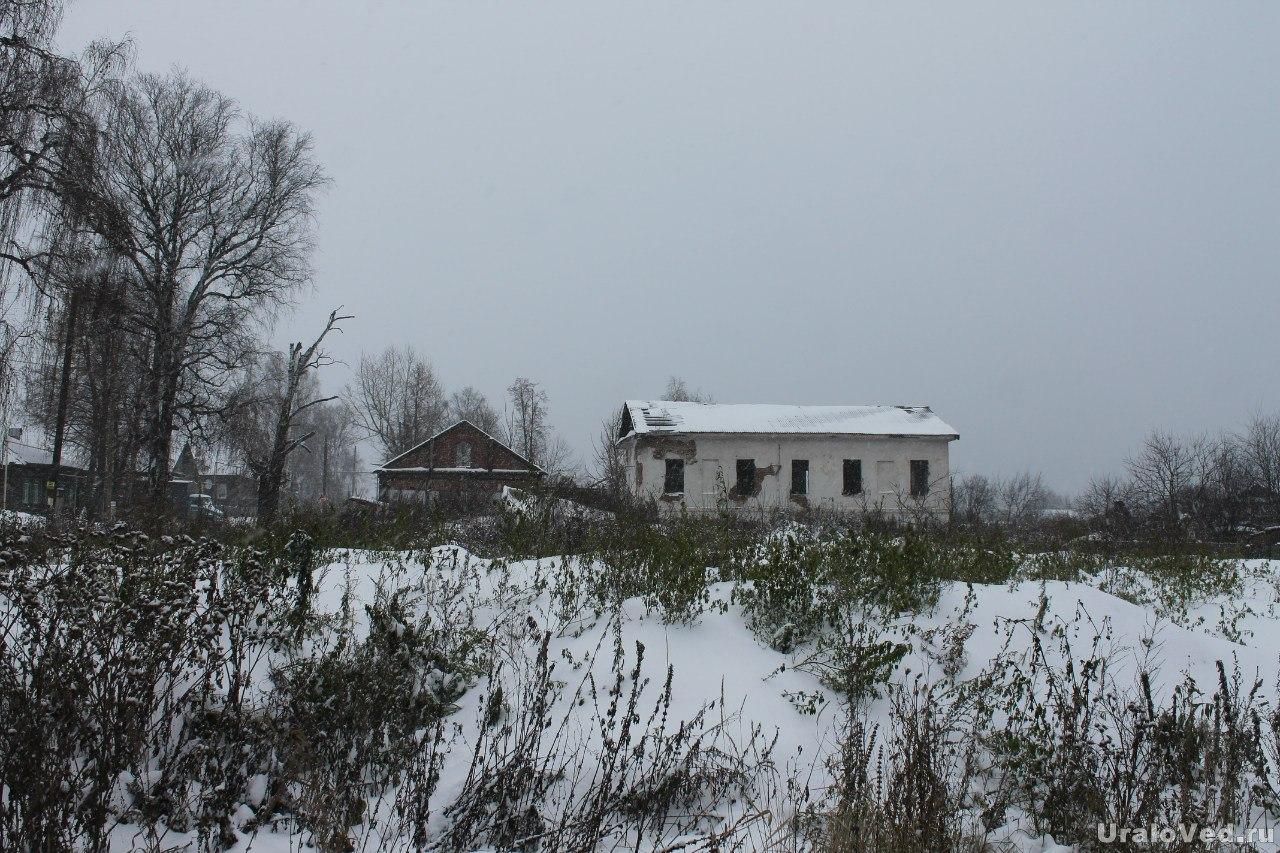 Здесь был дом управляющего заводом