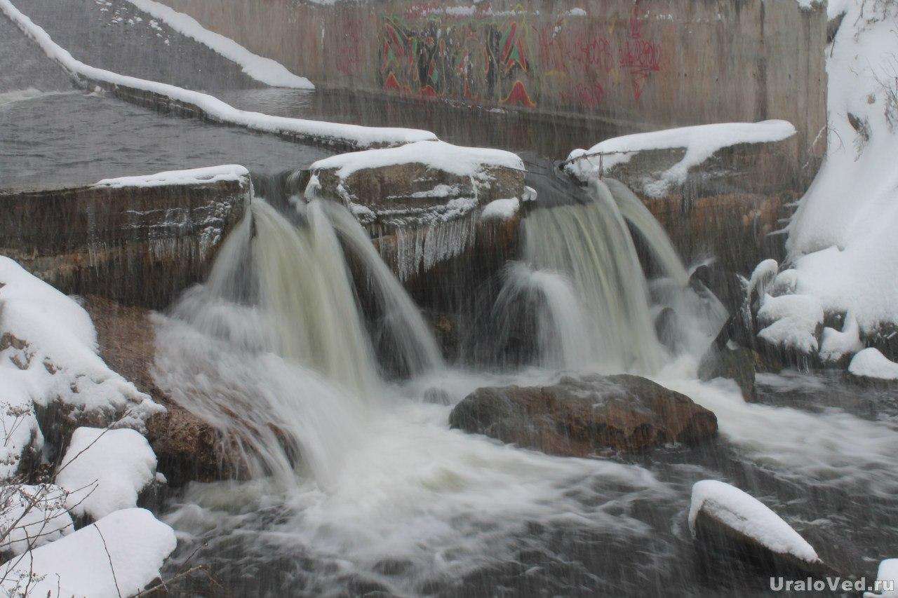 Плотина в Билимбае
