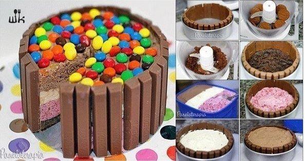 Как украсить детский торт своими руками