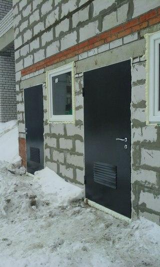 металлические двери на подъезд электросталь