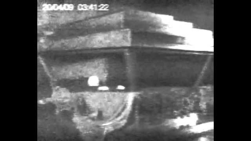 Камера в мавзолее Ленин жив