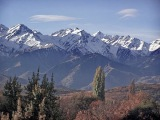 География Советского Союза, горы Тянь-Шань, Азия, граница - Казахстана, Узбекистан, Киргизии,
