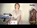 Оверлок Видео Урок 1 от Burda заправка нитей