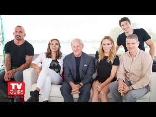 DC's Legends of Tomorrow @ Comic-Con 2015! Caity Lotz! Wentworth Miller!
