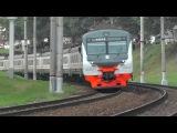 Электропоезд ЭД4М-0463 ЦППК перегон Фили - Москва-Пасс-Смоленская
