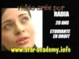 Star academy 4 portrait de RADIA