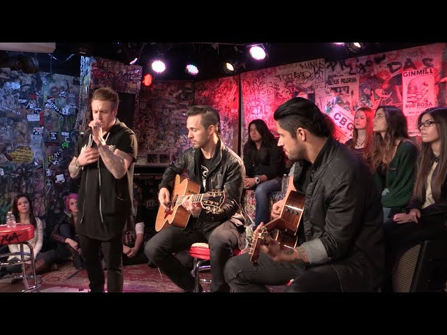 Papa Roach Scars Live Acoustic @ YouTube Space New York