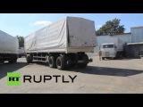 Ukraine: New batch of Russian aid arrives in Lugansk