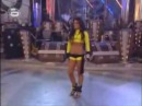 Polina Angelova dancing on Stavros Livykos - Skase.