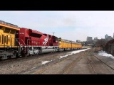 Union Pacific Superbowl Train!  E Units!!!!! Katy &amp Boy Scout Units State Line KCK KCMO