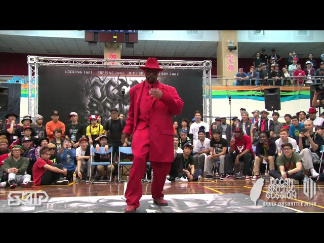 Popping Judge Solo - Boogaloo Sam | 20130303 OBS VOL.7 TAIWAN FINAL