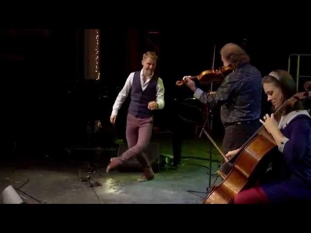 Alasdair Fraser Natalie Haas with Nic Gareiss live at Celtic Colours International Festival 2014