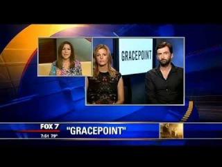 Anna Gunn and David Tennant on FOX 7