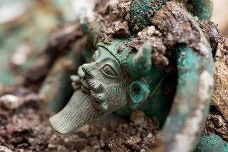 Кельтская гробница в Лаво