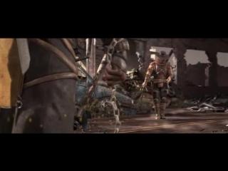 *скорпион против эррон блэка( мортал комбат 10( диалог
