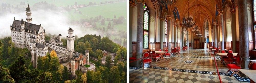25 сказочных мест со всей планеты (Замок Нойшванштайн, Германия)