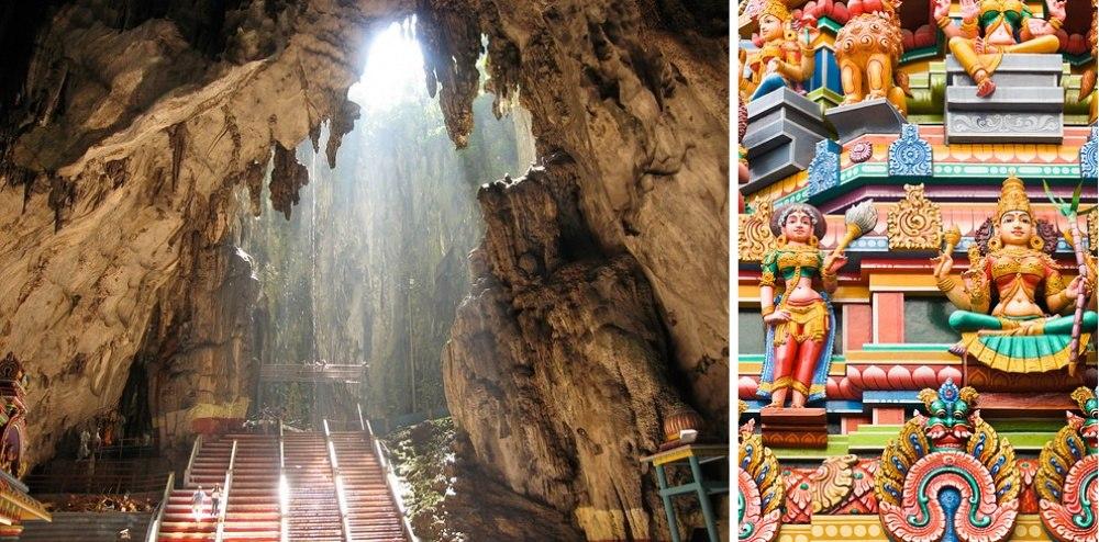 25 сказочных мест со всей планеты (Пещеры Бату, Малайзия)