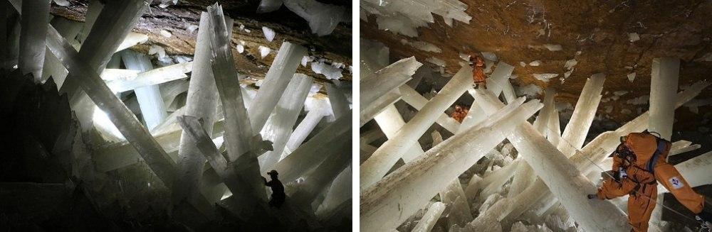 25 сказочных мест со всей планеты (Пещера кристаллов, Мексика)