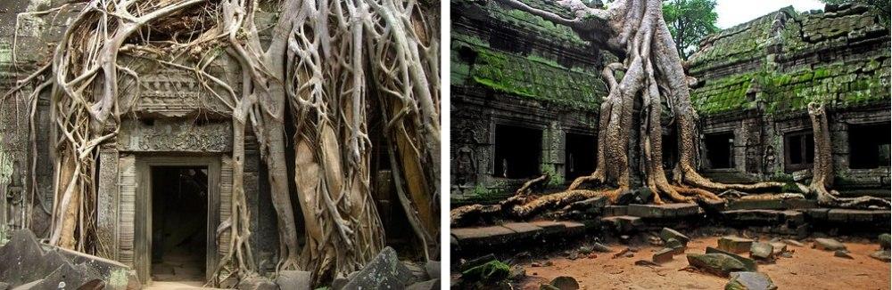25 сказочных мест со всей планеты (Храмовый комплекс Ангкор-Ват, Камбоджа)
