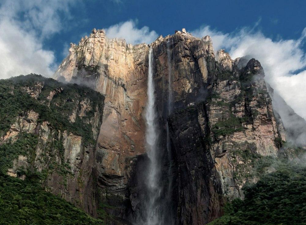 25 сказочных мест со всей планеты (Водопад Анхель, Венесуэла)