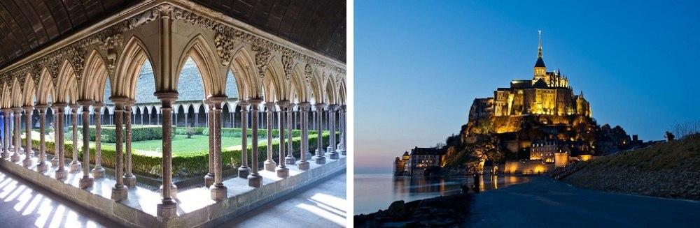 25 сказочных мест со всей планеты (Остров Мон-Сен-Мишель, Франция)