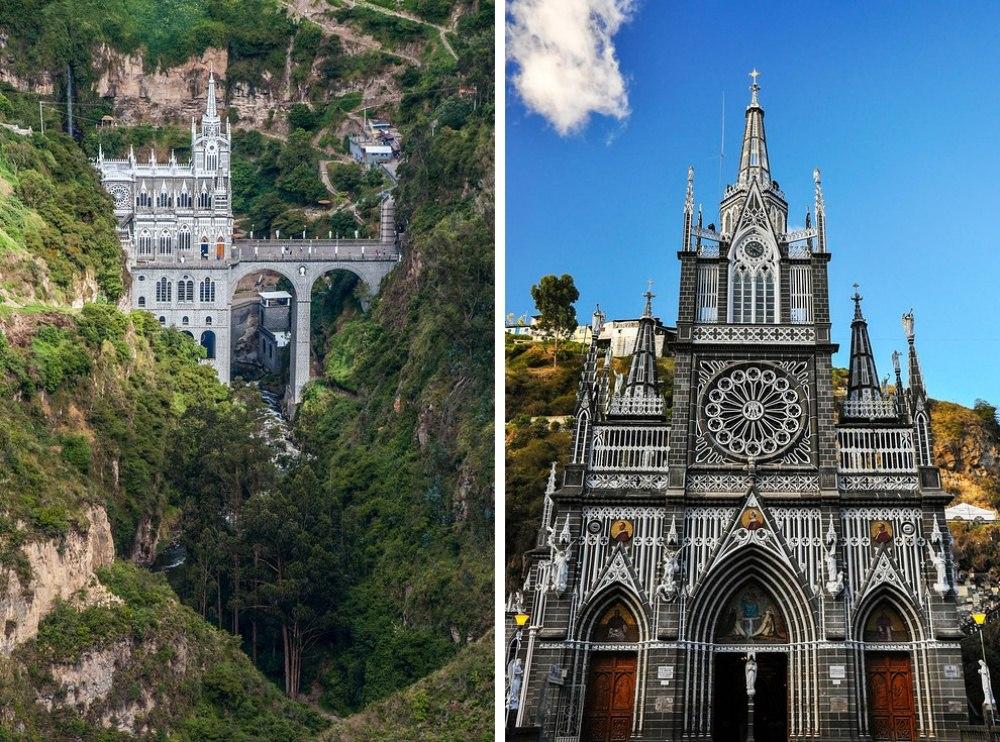 25 сказочных мест со всей планеты (Церковь Лас-Лахас, Колумбия)