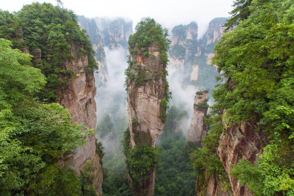 25 сказочных мест со всей планеты (Национальный парк Чжанцзяцзе, Китай)
