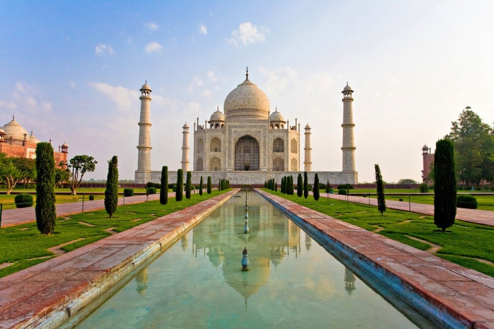 25 сказочных мест со всей планеты (Мавзолей Тадж-Махал, Индия)