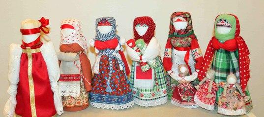 Тряпичные куклы мастер-класс оберег