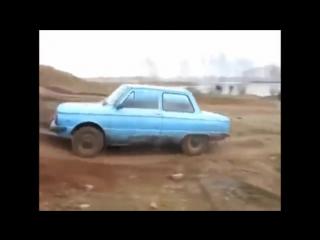 Бездорожье Запорожец против Ваз 1111 Ока Off Road Zaz 968 vs Vaz 1111 Oka