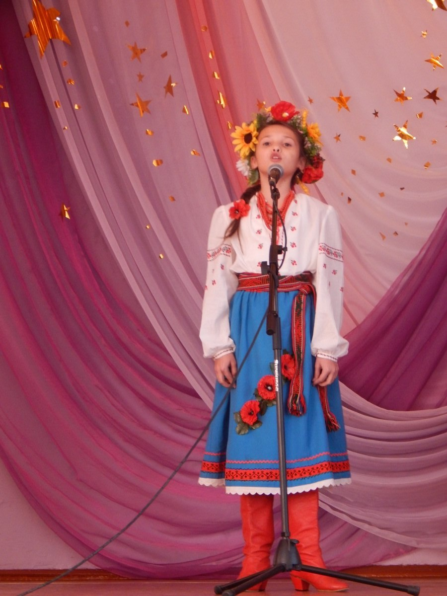 Полтава школа 9 Декламаторський конкурс
