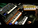 Analogue Synth Power Studio Jam with 2 Moogs and a Dave Smith Mopho keys in the lead